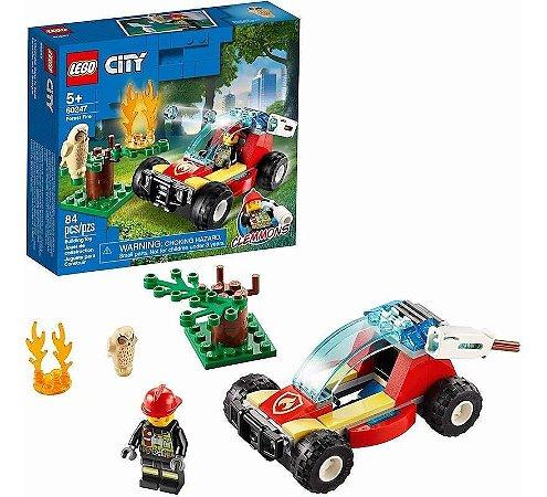 Lego City Floresta Em Chamas  60247 84 Peças