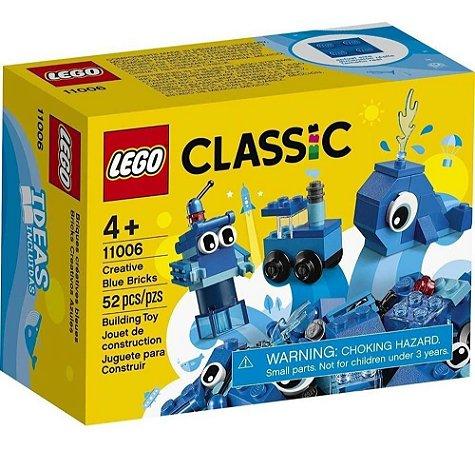 Lego Classic Peças Azuis Criativas 52 Peças 11006