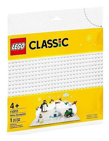 Lego Classic Base De Construção Branca 32x32 11010