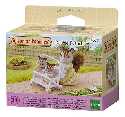 Sylvanian Families Carrinho Duplo  Para Bebês Epoch 4533