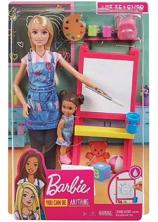 Barbie Profissões Professora De Arte Mattel