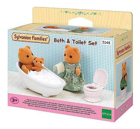 Sylvanian Families Conjunto De Toalete 5148