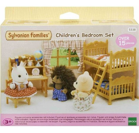 Sylvanian Families Conjunto Quarto Infantil 5338