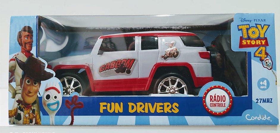 Veículo de Controle Remoto Fun Driver Disney Garfinho 4912