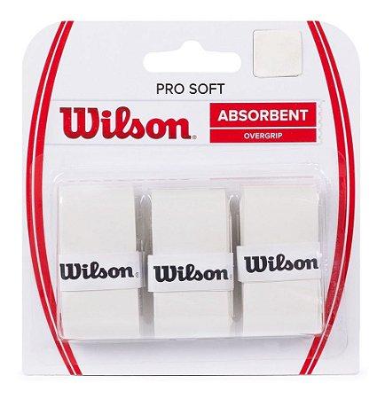 Overgrip Wilson Pro Soft New Branco