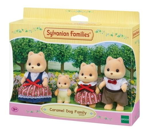Sylvanian Families Família Dos Cachorros Caramelos 5459