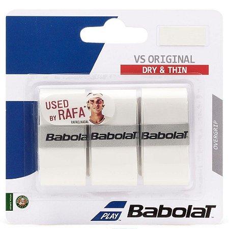 Overgrip Babolat Vs Original X3 Branco