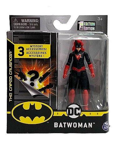 Boneca Dc Batwoman 10 Cm Figura Com Acessórios - Sunny 2182