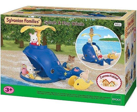 Sylvanian Families Conjunto Baleia Splash 5211 Epoch