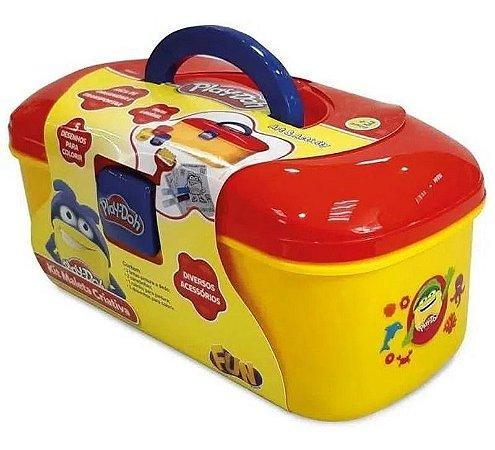 Kit Maleta Criativa Play-Doh Fun F0007-7