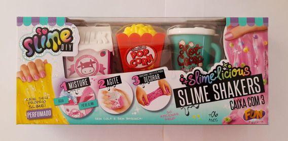 Slime  Shakers So Slime Diy Caixa Com 3 - F00185- Pipoca