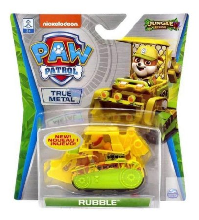 Mini veículo Patrulha Canina Jungle Rescue Rubble  - Sunny