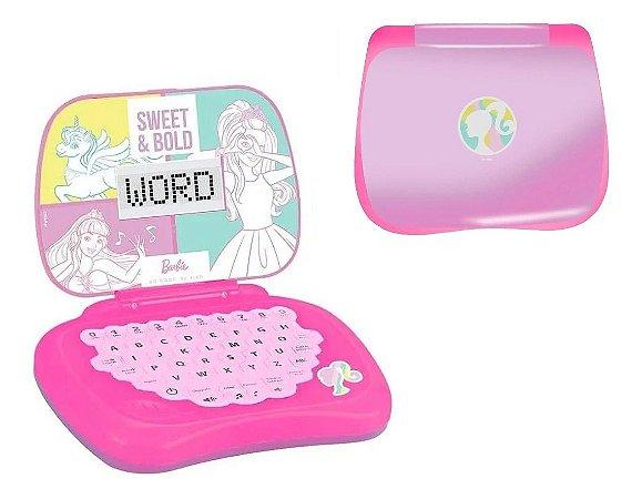 Laptop Infantil Barbie Brinquedo Candide 1812