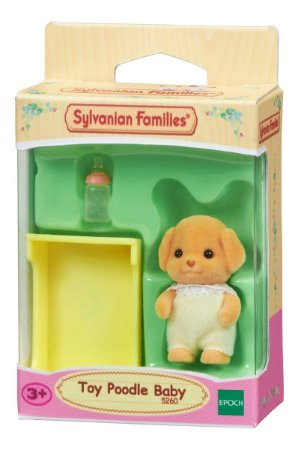 Sylvanian Families Figura Bebê Poodle Toy Epoch Magia 5260