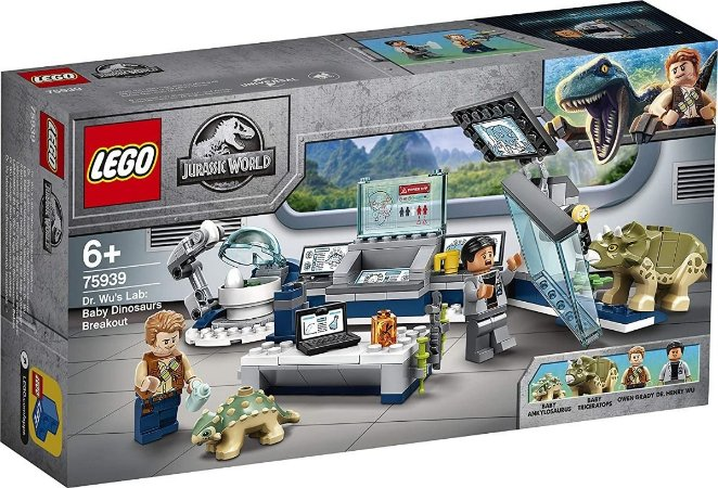 Lego 75939 - Dr. Wus Lab: Baby Dinosaurs Breakout