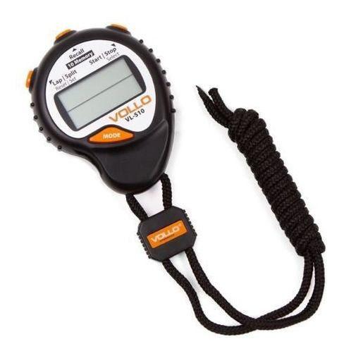 Cronômetro Profissional Vollo Vl-510 C/ 10 Memórias Alarme