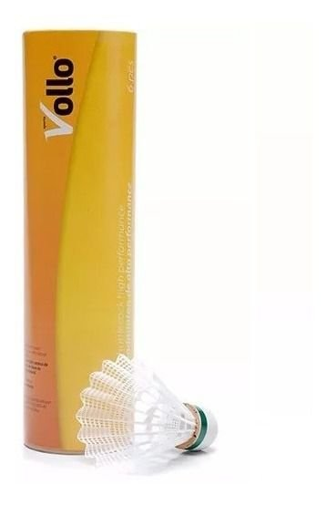 Peteca De Badminton Tubo C/6 Vollo