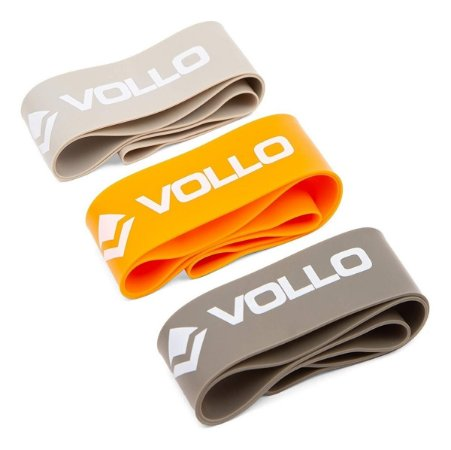 Conjunto De 3 Mini Bands De Exercício Vp1007 Vollo