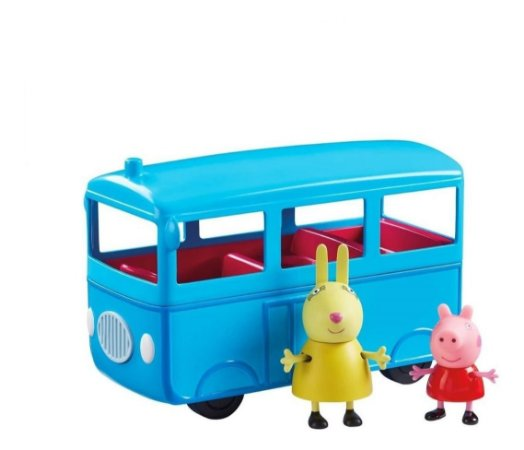 Ônibus Escolar Com Som E Peppa & Sra. Coelha Peppa Pig 2305