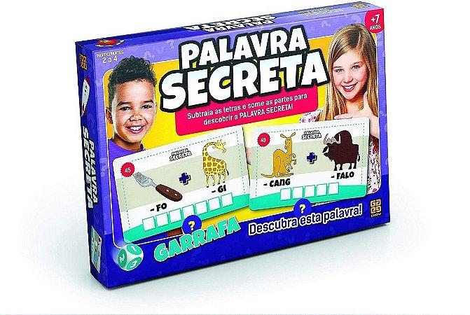Jogo Palavra Secreta 01800 - Grow