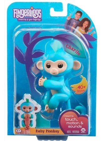 Fingerlings Baby Monkey Charlie Macaquinho Candide  3600