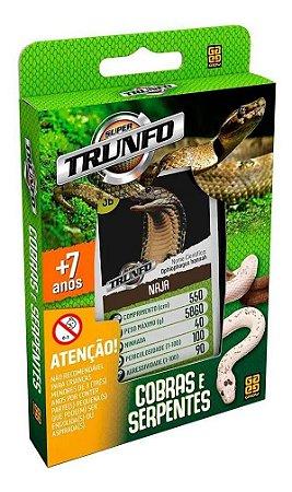 Super Trunfo Cobras E Serpentes - Grow