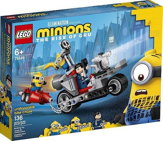 Lego Minions Perseguição  De Moto 75549