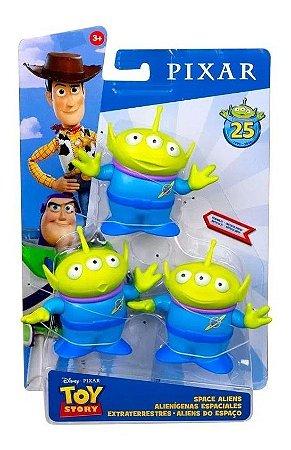 Boneco Figuras Aliens Do Espaço Toy Story - Mattel Gdp65