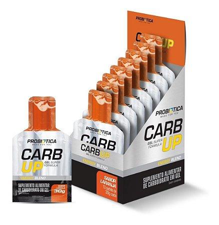 Carb-Up Gel Super Formula 10 Sachês Laranja - Probiótica