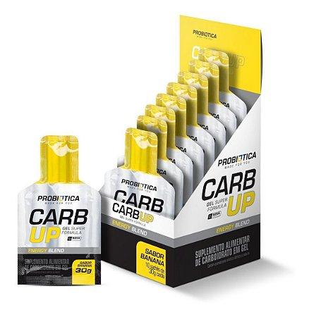 Carb-Up Gel Super Formula 10 Sachês Banana - Probiótica