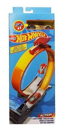Pista Hot Wheels Rei Do Looping  Set De Acrobacias  Fwm85