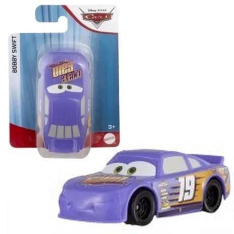 Veiculo Carros Disney Pixar  Bobby Swift Mattel Azul