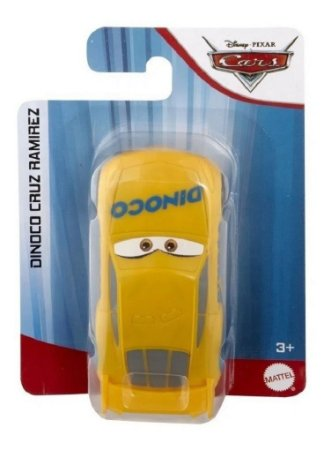 Veiculo Carros Disney Pixar  Cruz Ramirez Mattel