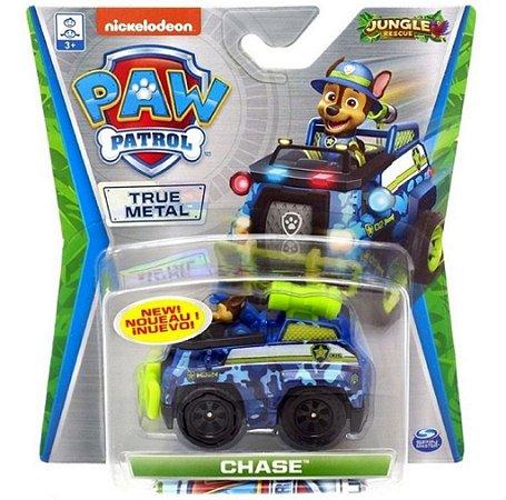 Mini veículo Patrulha Canina - Jungle Rescue - Chase  Sunny