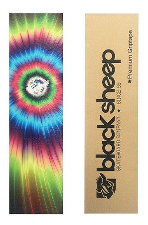 Lixa Skate Emborrachada Black Sheep Tie Dye Premium 9  X 33