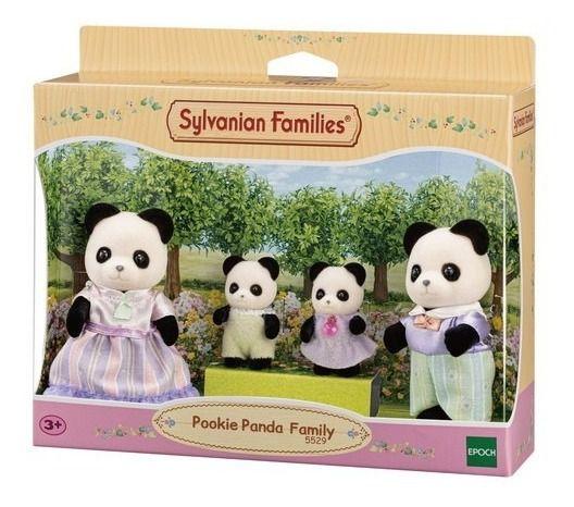 Sylvanian Families Família Dos Pandas Graciosos  Epoch 5529