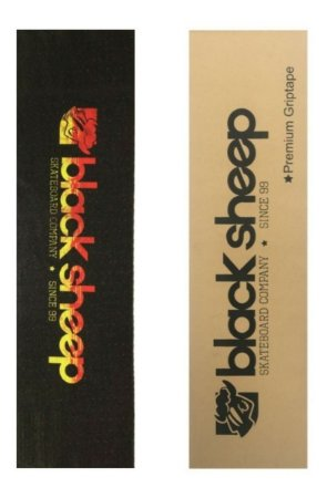 Lixa Emborrachada Skate Black Sheep Premium Importada 9x 33