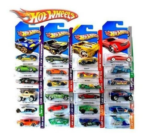 Kit Hot Wheels Hw Básico Sortido 10 Unidades - C4982 Mattel
