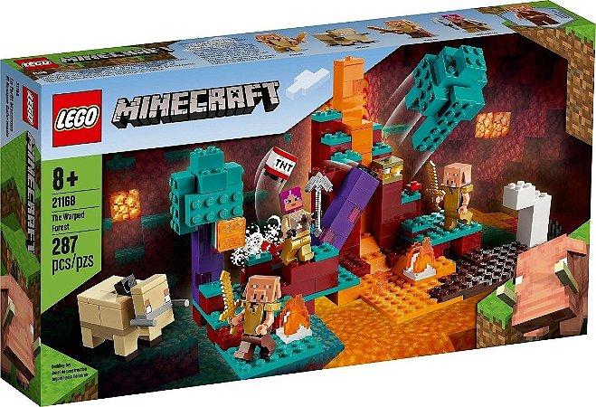 Lego Minecraft 21168 A Floresta Deformada  287 Peças