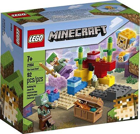 Lego Minecraft  21164 O Recife De Coral 92 Peças
