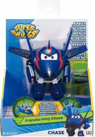 Super Wings Change Em Up Agent Chace Fun 80064