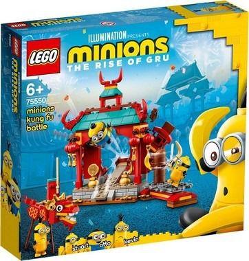 Lego 75550 Combate De Kung-Fu Dos Minions