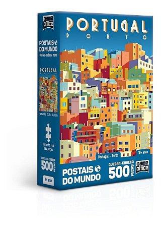 Quebra-cabeça Portugal Porto 500 Peças Nano - Game Office