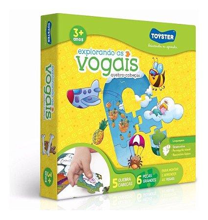 Jogo Educativo Explorando As Vogais -Toyster