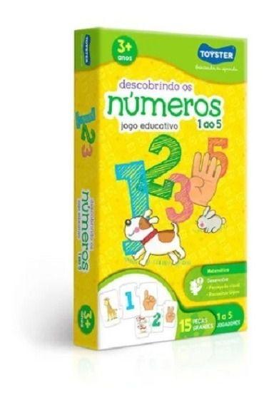 Jogo Descobrindo Os Números 1 Ao 5 Toyster