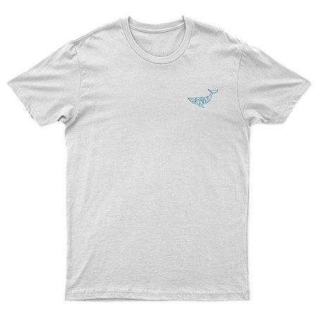 Camiseta Algodão Orgânico - Baleia