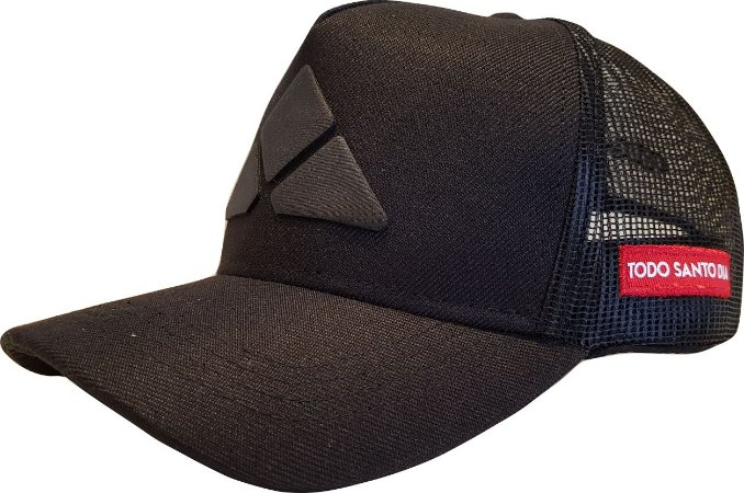 BONÉ TSD365 - TRUCKERHAT ALL BLACK 1