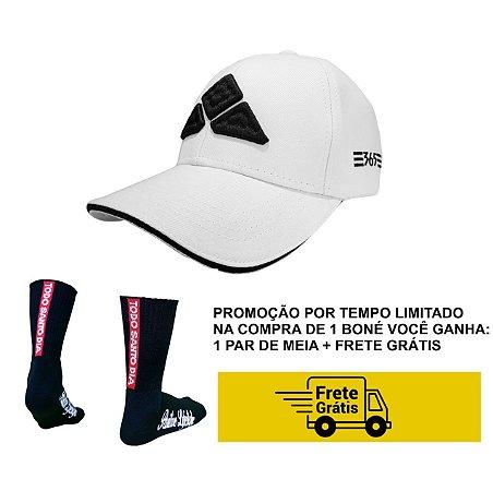 BONÉ TSD365 - BASEBALL CAP WHITE CLASSIC + MEIA TSD 365 + FRETE GRÁTIS