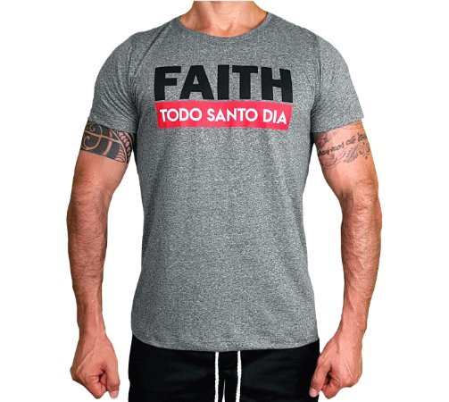 T-SHIRT SLIM FIT TSD FAITH GREY