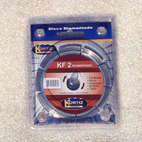 Disco de Corte - Diamantado - Kortiz - KF 2 Segmentado